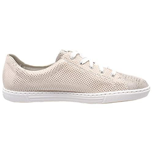 Rieker L0943-62 Ginger (Pink) Womens Trainers  9Napu1702798  -  33.99 0200564645