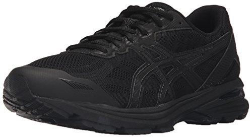 Onyx Vertical Line (ASICS Women's Gt-1000 5 Running Shoe, Black/Onyx/Black, 8 M US)