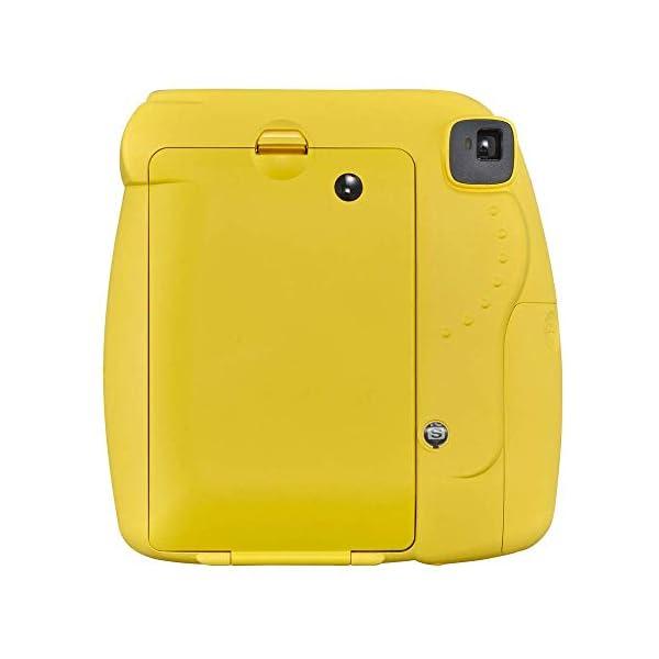RetinaPix Fujifilm instax Mini 9 Instant Camera (Yellow) with Film Pack (20 Sheets) Bundle (2 Items)