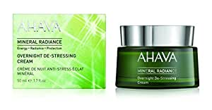 Ahava Mineral Radiance Overnight De-Stressing Cream, 1.7 Ounce