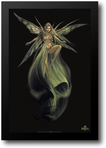 Amazon Com Alchemy Gothic Absinthe Fairy 26x38 Framed Art Print Artwork Posters Prints