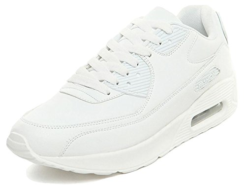 Trainers Fitness 10 Air WhiteLeather 5 Sneakers Sports Running Men's GFONE Trainers Women's 3 Jogging Size Shoes Unisex n4xYw8Rxq