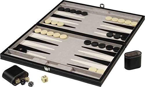 Mainstreet Classics 18-Inch Backgammon Board Game Set (Game Set Board Backgammon)