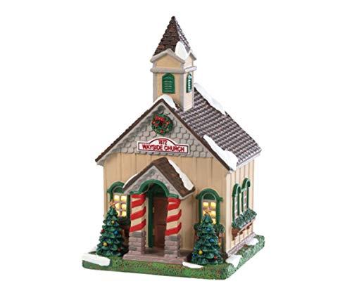 Lemax Christmas Building Wayside Church, Beige