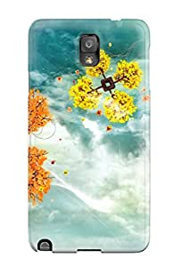 ZippyDoritEduard Case Cover Protector Specially Made For Galaxy Note 3 Space Trees