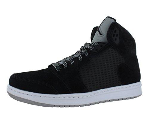 Nike Mens Air Jordan Prime 5 Basketball Shoes Black/Wolf Grey/White 429489-004 Size 12