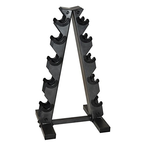 CAP-Barbell-Black-A-Frame-Dumbbell-Rack