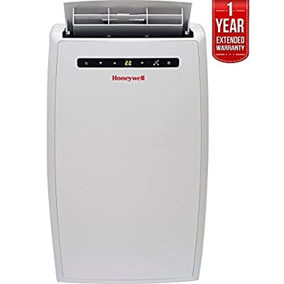 Honeywell 10,000 BTU Portable Air Conditioner with Remote Control White (MN10CESWW) with 1 Year Extended Warranty