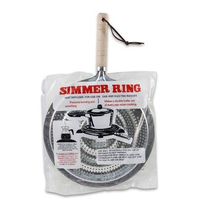 Simmer Ring Aluminum Heat Diffuser W/handle Distributer Pots Kitchen Double Boiler Gadget