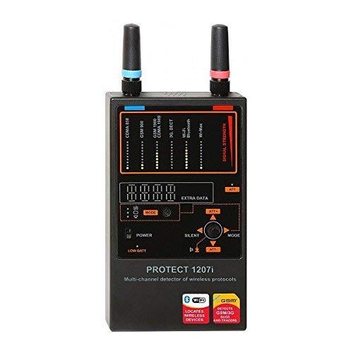 DefCon Security Products iProtect Multi-Channel Detector for Wireless Protocols - DD1207