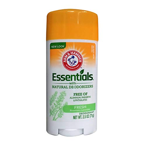 Arm & Hammer Essentials Deodorant, Fresh, 2.5 oz. (Pack of 2)