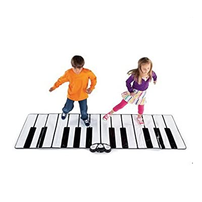 Giant Floor Piano Play Mat with Speaker Plug-in: Toys & Games [5Bkhe1205099]
