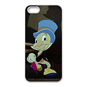 iPhone 4 4s Cell Phone Case White Disney Pinocchio Character Jiminy Cricket 06 Qwcdd
