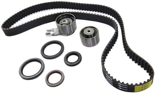 Timing Belt Kit compatible with S80 03-04 w//Seals XC90 03-05 6 Cyl 2.9L Eng