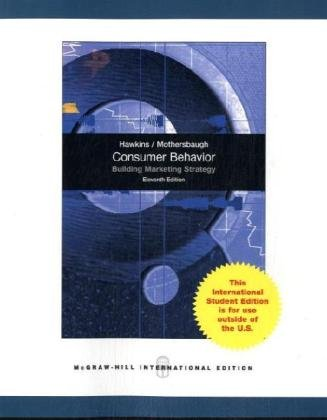 Consumer Behavior: Building Marketing Strategy, 11th Edition (International Edition) pdf epub