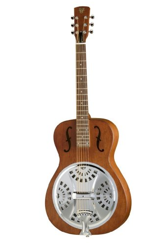 Round Neck Resonator Guitar - 1