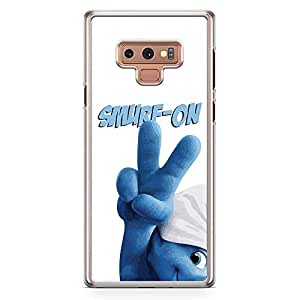 Loud Universe Smurf On Smurfs Samsung Note 9 Case Smurf Quote Samsung Note 9 Cover with Transparent Edges