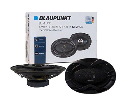Stereo Speaker Repair - Bluapunkt 6 x 9-Inch 300W Slim-Line, 4-Way Coaxial Car Audio Speaker