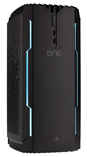 CORSAIR ONE PRO Compact Gaming Desktop, Liquid-Cooled Intel i7-7700K, Liquid-Cooled GeForce GTX 1080 Graphics, 480GB M.2 SSD, 2TB HDD, 16GB DDR4