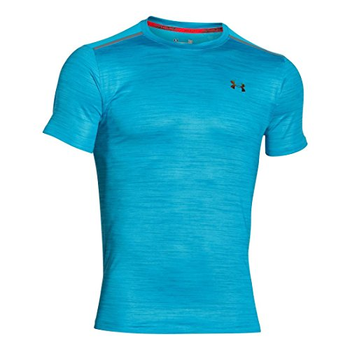 Under Armour Ua Coolswitch Run R2r S/S - meridian blue/ meridian blue/ iridescent gold