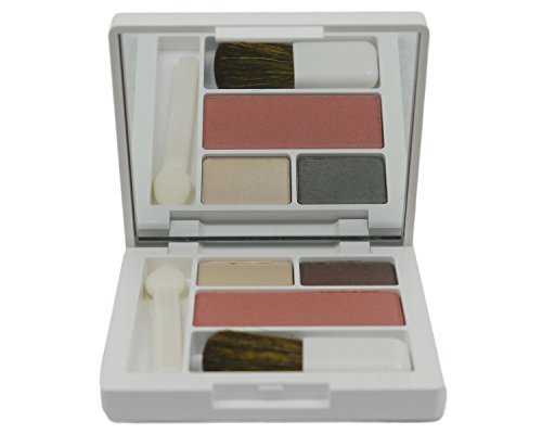Clinique All About Shadow Duo (06-Neutral Territory-Duo), (06-Fig-Soft-Pressed Powder Blusher).