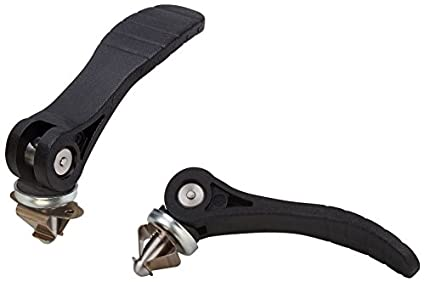 Electrolytic Polished Finish Kipp 04232-2120A3X50 Stainless Steel Cam Levers with 5//16-18 External Thread Inch Size 2 50 mm Screw Length