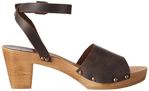 Brown antique Femme 14 Flex Sanita yara Marron 78 Wood Sandal 457357 78 Sandales wpfCAxq