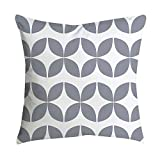 Chenway Pineapple Leaf Yellow Throw Pillow Case, Square Cushion Decoration CaseCover for Sofa Livingroom Home Decor (F)
