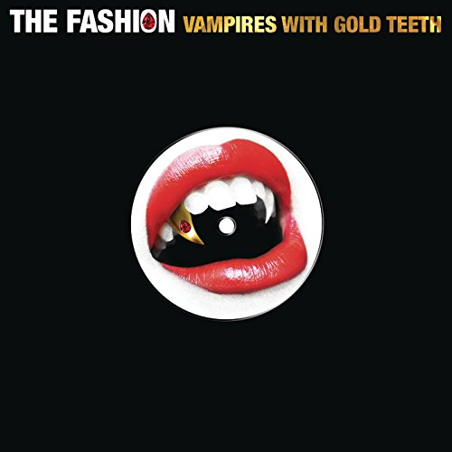 The fashion vampires with gold teeth