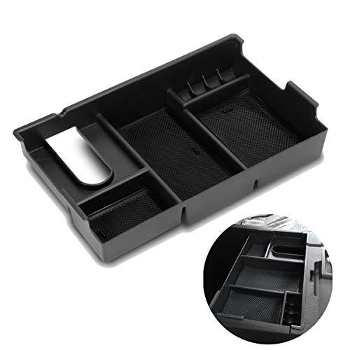 EDBETOS Center Console Armrest Box Glove Box Secondary Storage Console Organizer Insert Tray For Toyota Tundra 2014-2018
