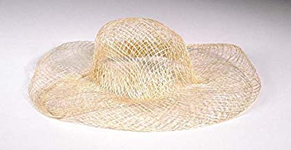 e548c238982 Amazon.com  Darice Mini Woven Sinamay Hat  Natural