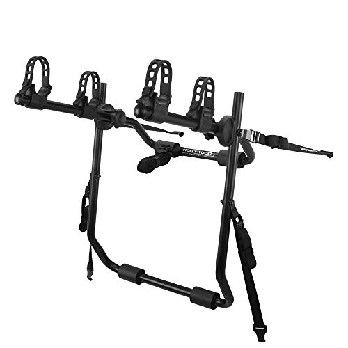Hollywood Racks Express 2 Two Bike Trunk Rack (Black) ()