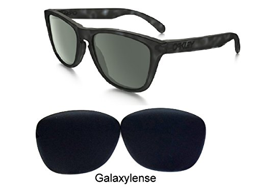 Galaxy Replacement Lenses for Oakley Frogskins Black Color - Frogskin Oakley Lens