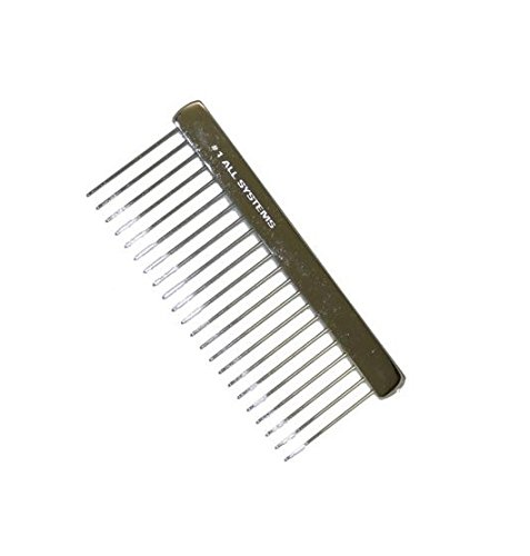 #1 All Systems De Matting Comb, 6""