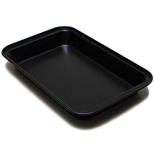GASTRO Profi antihaft Backblech Kuchenblech 30% weniger Energie E-Herd Elektroherd Pizzablech Herdbacklech Fettpfanne