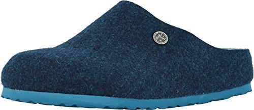 Birkenstock Womens Kaprun Happy Lamb Doubleface Blue Clog - 39 NAR