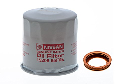 Nissan Engine Oil Filter & Drain Plug Gasket Seal Crush Ring Washer OEM NEW ()