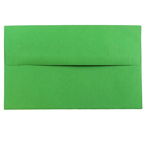 - JAM PAPER A10 Colored Invitation Envelopes - 6 x 9 1/2 - Green Recycled - 50/Pack