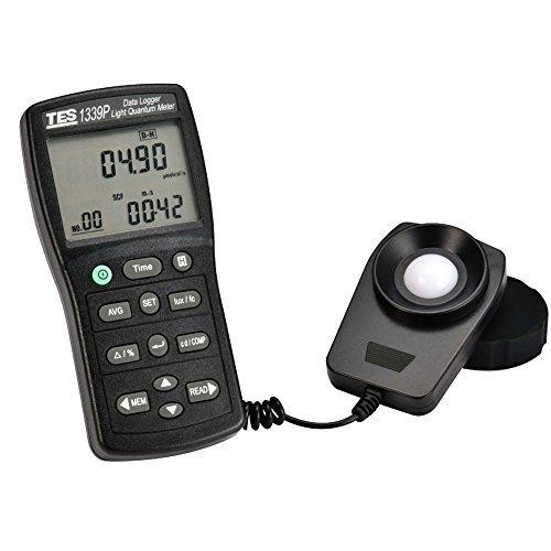 TES Instruments TES-1339R Digital Light Meter, Data Logging by TES