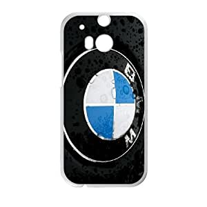 HTC One M8 Cell Phone Case White BMW nwry