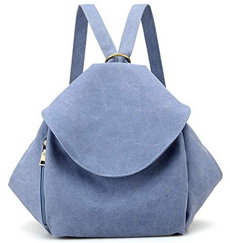 celeste única Blue Bandolera de para Bolso Talla Lona Lake Qiu azul Mujer Mujer niña AwPOqSC