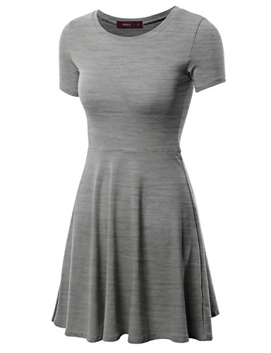Doublju Casual Sleeve Mini Dress