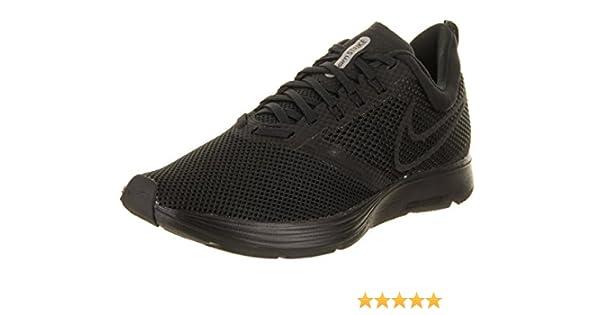 cheap for discount 0f577 b1dad Amazon.com   NIKE Women s Zoom Strike Black Black Running Shoe 5.5 Women US    Fashion Sneakers