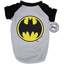 DC Comics Batman Tee For Dogs| Batman Logo T-Shirt Dogs, Small