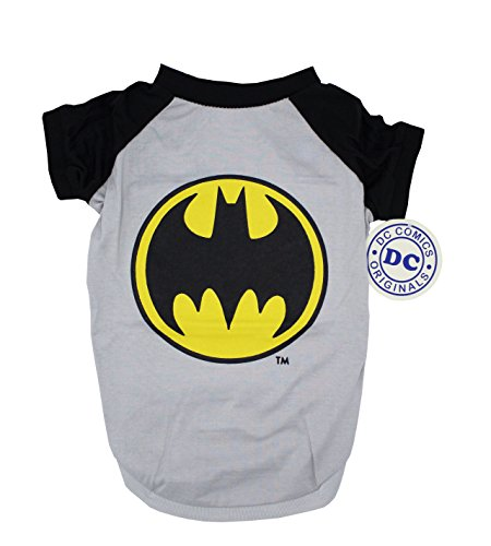 DC Comics for Pets DC Comics Batman Tee For Dogs| Batman Logo T-Shirt Dogs, Medium