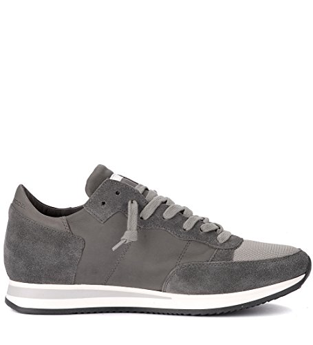 Grigia Model Tropez Sneaker in Philippe Pelle Suede e Grigio 60fzqdwnxg
