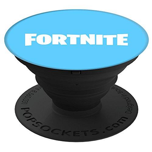 Electronics : Fortnite Fortnite Logo (Blue) PopSockets Stand for Smartphones and Tablets