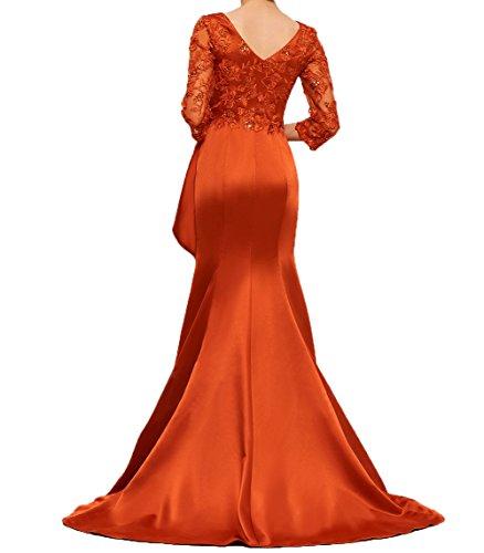 Spitze Abschlussballkleider Violett Partykleider Brautmutterkleider Damen Ballkleider Edel Charmant Abendkleider R0vxPq