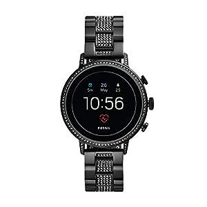 Fossil Women's Gen 4 HR Heart Rate Stainless Venture Steel Touchscreen Smartwatch Color: Model: Watch