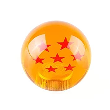 Rxmotor Dragon ball Z Star Manual Stick Shift Knob With Adapters Fits Most Cars 1-7 stars 7 STAR